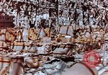 Image of wrecked steel frame Nagasaki Japan, 1946, second 10 stock footage video 65675037806