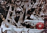 Image of wrecked steel frame Nagasaki Japan, 1946, second 3 stock footage video 65675037807