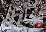 Image of wrecked steel frame Nagasaki Japan, 1946, second 4 stock footage video 65675037807