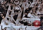 Image of wrecked steel frame Nagasaki Japan, 1946, second 5 stock footage video 65675037807