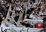 Image of wrecked steel frame Nagasaki Japan, 1946, second 6 stock footage video 65675037807