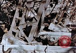 Image of wrecked steel frame Nagasaki Japan, 1946, second 8 stock footage video 65675037807