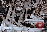Image of wrecked steel frame Nagasaki Japan, 1946, second 10 stock footage video 65675037807