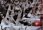 Image of wrecked steel frame Nagasaki Japan, 1946, second 11 stock footage video 65675037807