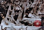 Image of wrecked steel frame Nagasaki Japan, 1946, second 12 stock footage video 65675037807