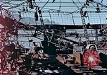 Image of wrecked steel frame Nagasaki Japan, 1946, second 2 stock footage video 65675037808