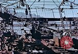 Image of wrecked steel frame Nagasaki Japan, 1946, second 3 stock footage video 65675037808