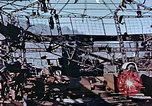 Image of wrecked steel frame Nagasaki Japan, 1946, second 4 stock footage video 65675037808