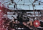 Image of wrecked steel frame Nagasaki Japan, 1946, second 5 stock footage video 65675037808