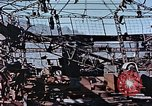 Image of wrecked steel frame Nagasaki Japan, 1946, second 6 stock footage video 65675037808