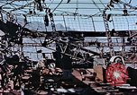 Image of wrecked steel frame Nagasaki Japan, 1946, second 7 stock footage video 65675037808