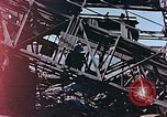 Image of wrecked steel frame Nagasaki Japan, 1946, second 8 stock footage video 65675037808
