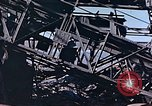 Image of wrecked steel frame Nagasaki Japan, 1946, second 9 stock footage video 65675037808