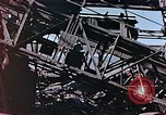 Image of wrecked steel frame Nagasaki Japan, 1946, second 11 stock footage video 65675037808