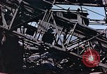Image of wrecked steel frame Nagasaki Japan, 1946, second 12 stock footage video 65675037808