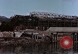Image of wrecked steel frame Nagasaki Japan, 1946, second 2 stock footage video 65675037809