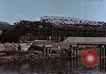 Image of wrecked steel frame Nagasaki Japan, 1946, second 3 stock footage video 65675037809