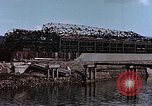 Image of wrecked steel frame Nagasaki Japan, 1946, second 7 stock footage video 65675037809