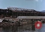 Image of wrecked steel frame Nagasaki Japan, 1946, second 10 stock footage video 65675037809