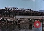 Image of wrecked steel frame Nagasaki Japan, 1946, second 11 stock footage video 65675037809