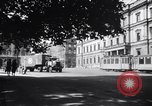 Image of American military truck Stuttgart Germany, 1947, second 2 stock footage video 65675037833