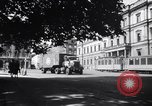 Image of American military truck Stuttgart Germany, 1947, second 3 stock footage video 65675037833