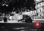 Image of American military truck Stuttgart Germany, 1947, second 4 stock footage video 65675037833