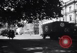 Image of American military truck Stuttgart Germany, 1947, second 5 stock footage video 65675037833