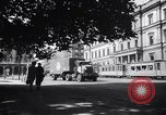 Image of American military truck Stuttgart Germany, 1947, second 8 stock footage video 65675037833