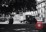 Image of American military truck Stuttgart Germany, 1947, second 9 stock footage video 65675037833