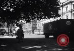 Image of American military truck Stuttgart Germany, 1947, second 10 stock footage video 65675037833