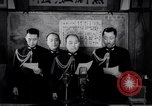 Image of Japanese admirals appeal by radio to defense workers Japan, 1944, second 6 stock footage video 65675037851