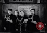 Image of Japanese admirals appeal by radio to defense workers Japan, 1944, second 7 stock footage video 65675037851
