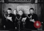Image of Japanese admirals appeal by radio to defense workers Japan, 1944, second 10 stock footage video 65675037851