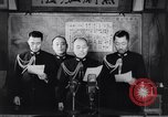 Image of Japanese admirals appeal by radio to defense workers Japan, 1944, second 12 stock footage video 65675037851