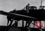 Image of Japanese Aichi E13A Jake observation plane catapulted Pacific Ocean, 1941, second 11 stock footage video 65675037853