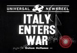 Image of Benito Mussolini Italy, 1940, second 1 stock footage video 65675037897