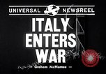 Image of Benito Mussolini Italy, 1940, second 4 stock footage video 65675037897