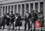 Image of World War 2 Aces Don Gentile and John Godfrey Washington DC USA, 1944, second 10 stock footage video 65675037904