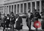 Image of World War 2 Aces Don Gentile and John Godfrey Washington DC USA, 1944, second 11 stock footage video 65675037904