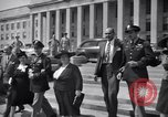 Image of World War 2 Aces Don Gentile and John Godfrey Washington DC USA, 1944, second 12 stock footage video 65675037904