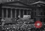Image of U.S. Merchant Marine commemoration ceremony New York City USA, 1944, second 7 stock footage video 65675037906