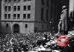 Image of U.S. Merchant Marine commemoration ceremony New York City USA, 1944, second 8 stock footage video 65675037906