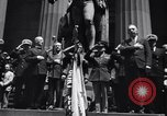 Image of U.S. Merchant Marine commemoration ceremony New York City USA, 1944, second 10 stock footage video 65675037906