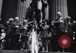 Image of U.S. Merchant Marine commemoration ceremony New York City USA, 1944, second 11 stock footage video 65675037906