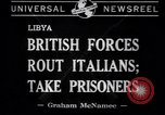 Image of Italian soldiers Libya, 1941, second 2 stock footage video 65675037911