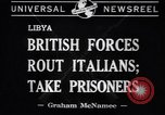 Image of Italian soldiers Libya, 1941, second 5 stock footage video 65675037911