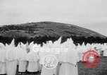 Image of Ku Klux Klan gathering Atlanta Georgia, 1949, second 2 stock footage video 65675037929