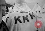 Image of Ku Klux Klan gathering Atlanta Georgia, 1949, second 10 stock footage video 65675037929