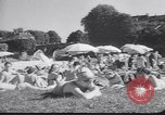 Image of French swimmers France, 1949, second 9 stock footage video 65675037930